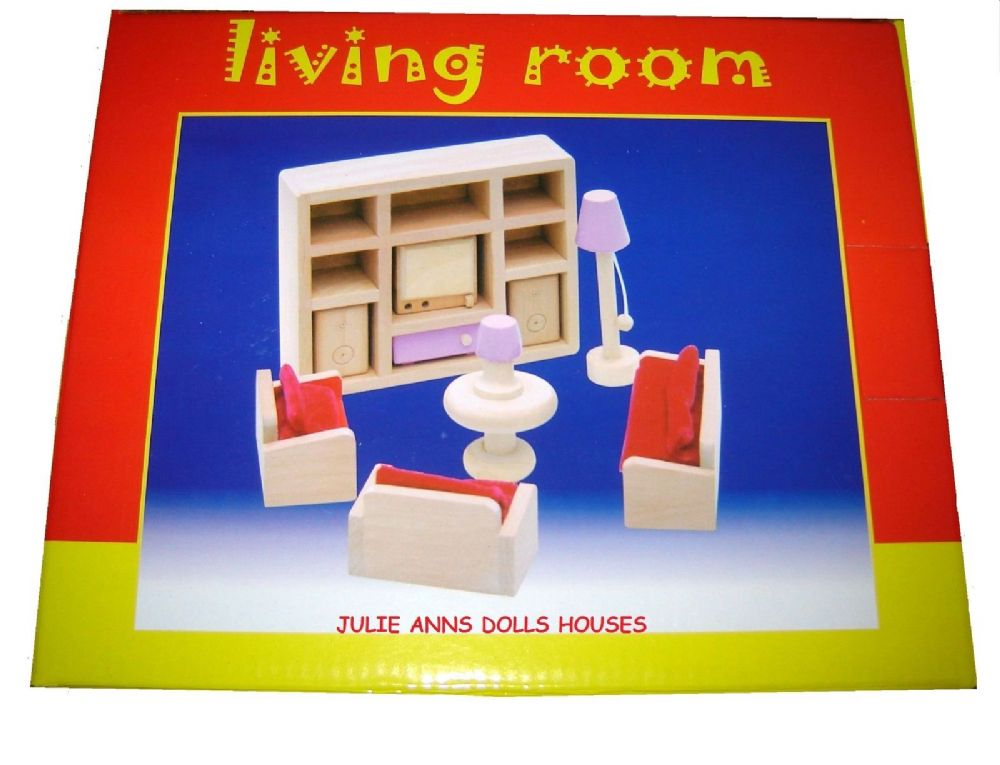 Pink dolls house lounge set